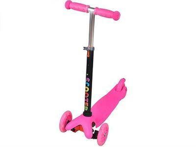 Hulajnoga Tříkolka Pink + dárek