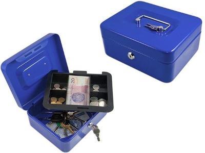 Příruční pokladna 200 x 160 x 90 cm modrá + dárek