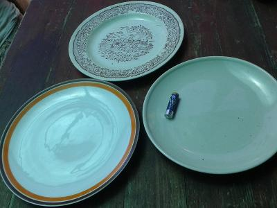 Starý porcelán - Talíře 3KS/ 870