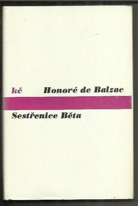 HONORÉ DE BALZAC - Sestřenice Běta