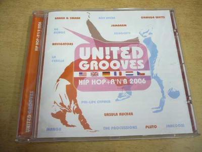CD United Grooves - Hip Hop + R´n´B 2006