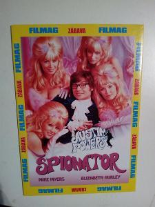 DVD, film Špionátor