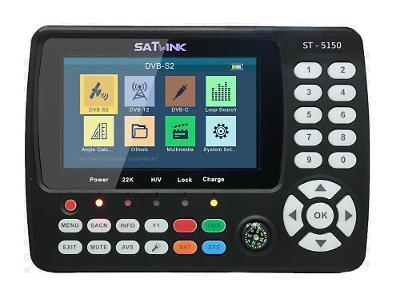 Combo měřící přístroj SATLINK ST-5150 - s H.265 kodekem a DVB-S2 CZ