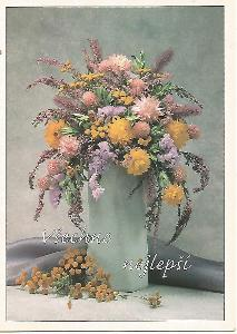kytice, foto Jaroslava Gutová, všechno nejlepší 3-1678°°