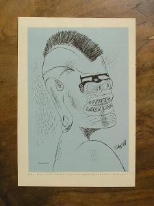 Fr. Tichý 1936 - Orig. litografie - (K280)