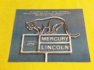 --- Lincoln-Mercury 1977 ----------------------------------------- USA