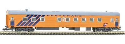 TT-MODEL 2250 Jídelní vůz - Vlak BALTIJA LDZ Lotyšsko Ep.V / TT 1:120