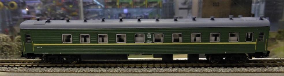 TT-MODEL 2810 Osobní vůz ekonomické třídy SZD Ep.III-IV / TT 1:120