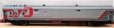 TT-MODEL 72114 Zavazadlový vůz (nové barvy) RZD Ep.V-VI / TT 1:120