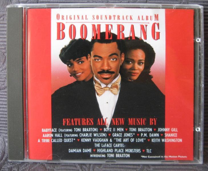 CD - Soundtrack - Boomerang  - Hudba