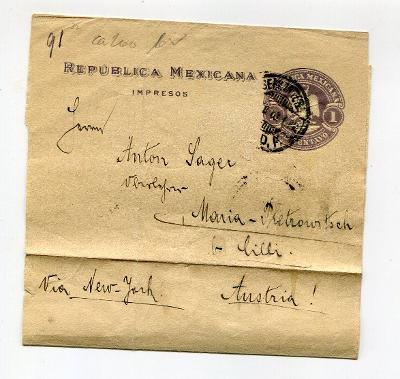 MEXIKO    - RUKÁV NA NOVINY   /AR 16-12