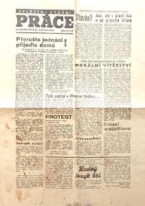 NOVINY - PRÁCE - 27.SRPNA 1968 - H+Z burcují
