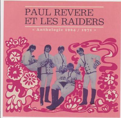 CD Paul Revere et les Raiders - Anthologie 1964 / 1971