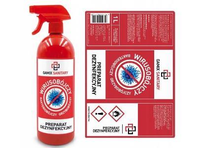 Antibakteriální gel s vysokým obsahem alkoholu 500ml koronavirus+dárek