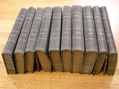 Blahověst Hlasy katolické   11 knih  z let 1870 - 1886 !!!!!!!!!
