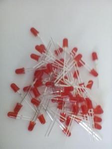 LED 5mm difuzní červená