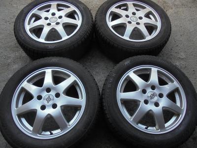 205 55 16 zimní+16 alu VW Golf 5,6, Škoda Octavia 2, Seat, ET50, 4kusy