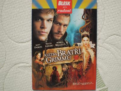 Kletba bratří Grimmů (DVD), režie Terry Gilliam,  stav - jako nové