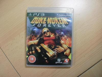 Hra na Ps 3 - Duke Nukem Forever - Anglický manuál