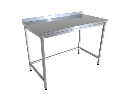 Nerezový stůl 70x70x85cm