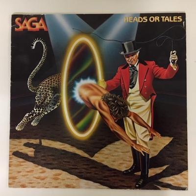 Saga – Heads Or Tales - LP vinyl
