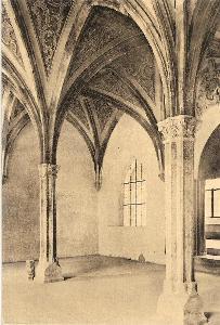 ZLATÁ KORUNA - interiér kláštera - Český Krumlov