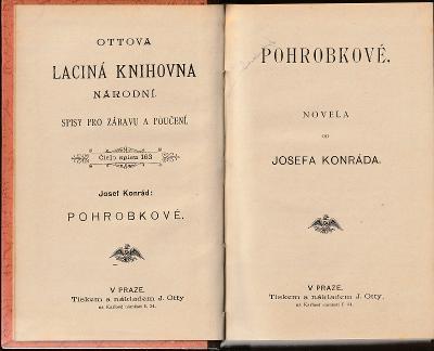 Josef Deograt Konrád: Pohrobkové, 1898, pěkný stav!!