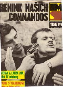 Starý časopis Mladý svět č. 36/1991