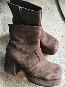 Dámské zimní boty Vel. 39