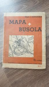 Mapa a busola škpt.Jedlička 1932-vše o mapách