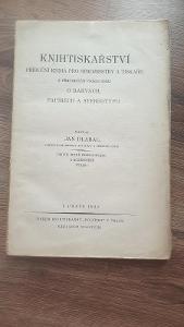 Knihtiskařství příruční kniha pro strojmistry a tiskaře 1922
