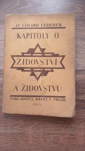 Kapitoly o židovství a židovstvu 1925
