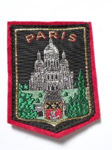 PARIS - NÁŠIVKA