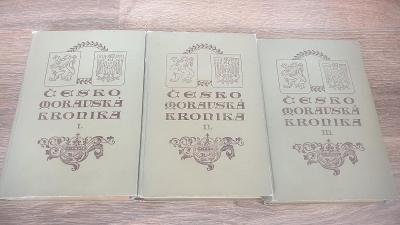 Českomoravská kronika I-III-vydáno 1906-Karel Vladislav Zap