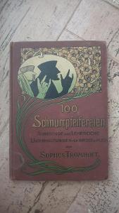 Kniha pro malé kouzelníky a trikaře z roku cca 1900