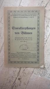 Starý herbář rostlin nacházející se v Čechách-1927-švabach