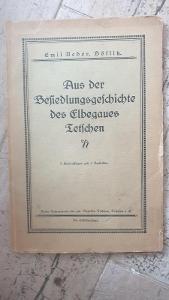 Historie-místopis-Sudety-Severní Čechy-Děčín z roku 1926-mapa