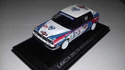 Lancia Delta Integrale z Rallye Monte Carlo 1990 1:43