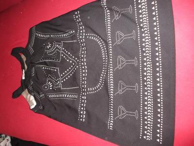 šaty  černé MOLLY