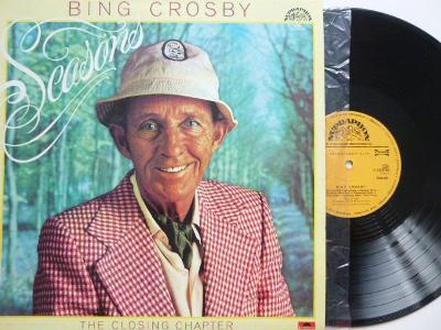 BING CROSBY Seasons THE CLOSING CHAPTER / Johny Evans PETE MOORE ORCH.