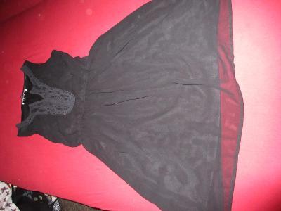 šaty   černé  ONLY