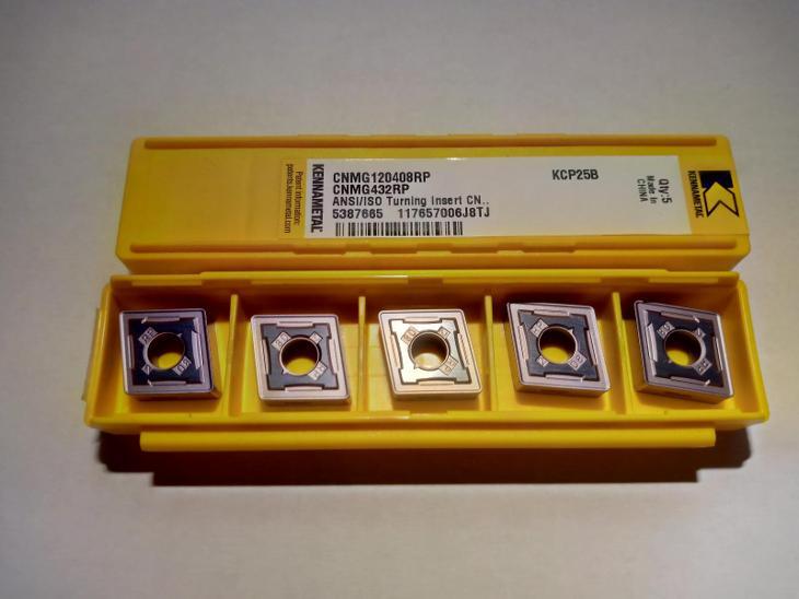 plátky KENNAMETAL CNMG120408RP 60ks. - Průmysl