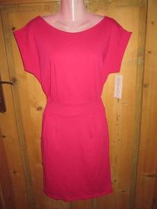 Italská móda - šaty s kapsami vel. uni S-M-L