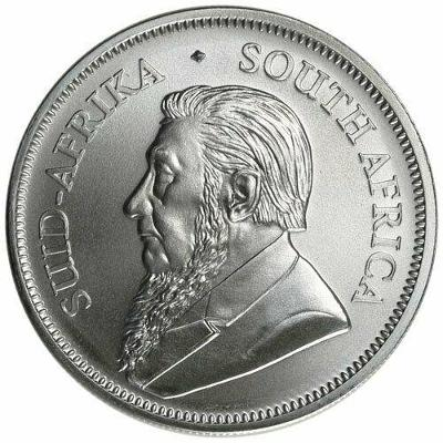 stříbrné mince Krugerrand 1 oz 999/1000 v kapsičce
