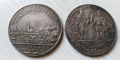1 tolar 1739 Lambertus Alexander kopie *540a
