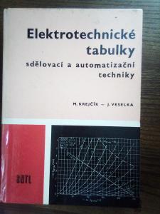 Elektrotechnické tabulky sdělovací a automatizační techniky