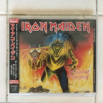 Iron Maiden – The Number Of The Beast - CD - zabalené RARITA Japan