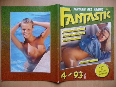 Erotický časopis - FANTASTIC - číslo 4 z roku 1993