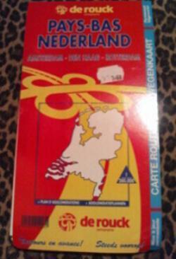 mapa holandsko( amsterdam-den haag.rotterdam)