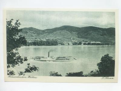 Rakousko - Weissenkirchen, Wachau - parník